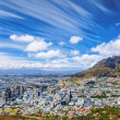 Cape Town city view — Stock Photo