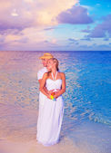 Wedding on the beach — Stock Photo