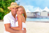 Honeymoon vacation — Stock Photo