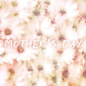 Greeting card for mothers day — Stock Photo