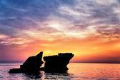 Beautiful rocks landscape — Stock Photo