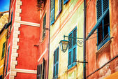 Beautiful colorful Italian house — Stock Photo