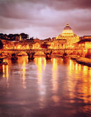 St. Peter's cathedral in Vatican, Italy — 图库照片
