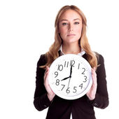 Come to work in time — Stock Photo