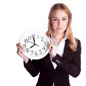 Discipline in office concept — Stock Photo