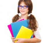 Happy school girl — Stock Photo #51791207