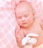 Cute baby asleep — Stock Photo