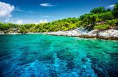 Beautiful uninhabited island — Stock Photo