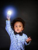 Little genius — Stock Photo