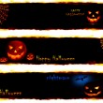 Halloween banners — Stock Photo #6966385