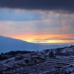 Winter sea sunset — Stock Photo #7906414