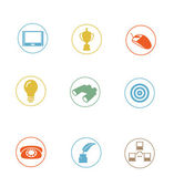 Icon Sets professionally designed - part 1 — Stock Photo