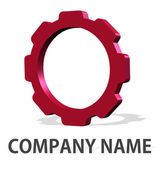 Gear logo company concept — Stock Photo