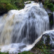Middle Waterfall in Triberg — Stock Photo