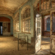 Stock Photo: Old abandoned hospital