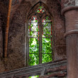 Old dilapidated church window — Stock Photo #40978747