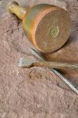 Stonemason tool — Stock Photo