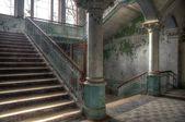 Old Hall in Beelitz — Stock Photo