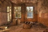 Old deserted dirty room — Stock Photo