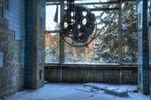 Abandoned operating theater in Beelitz — Stock Photo