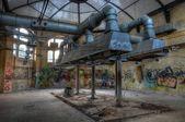 Old kitchen in the sanatorium in Beelitz — Stock Photo