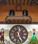 Large Cuckoo Clock — Stockfoto