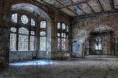 Old abandoned hospital — Stock Photo