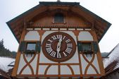 The largest cuckoo clock in the world in Triberg — Стоковое фото