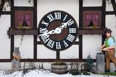 Large Cuckoo Clock — Stock Photo