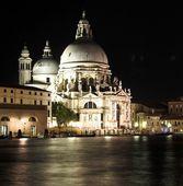 Benátky v noci — Stock fotografie