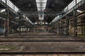 Old ailing Lost Place in East Germany — Stock Photo