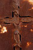 Paslı demiri — Stok fotoğraf
