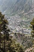 Andorra la vella visa avstånd — Stockfoto