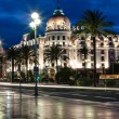 Famous Hotel Negresco in Nice, France - Stock Photo