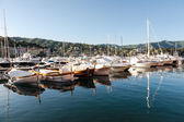 Marina santa margherita ligure, itália — Fotografia Stock