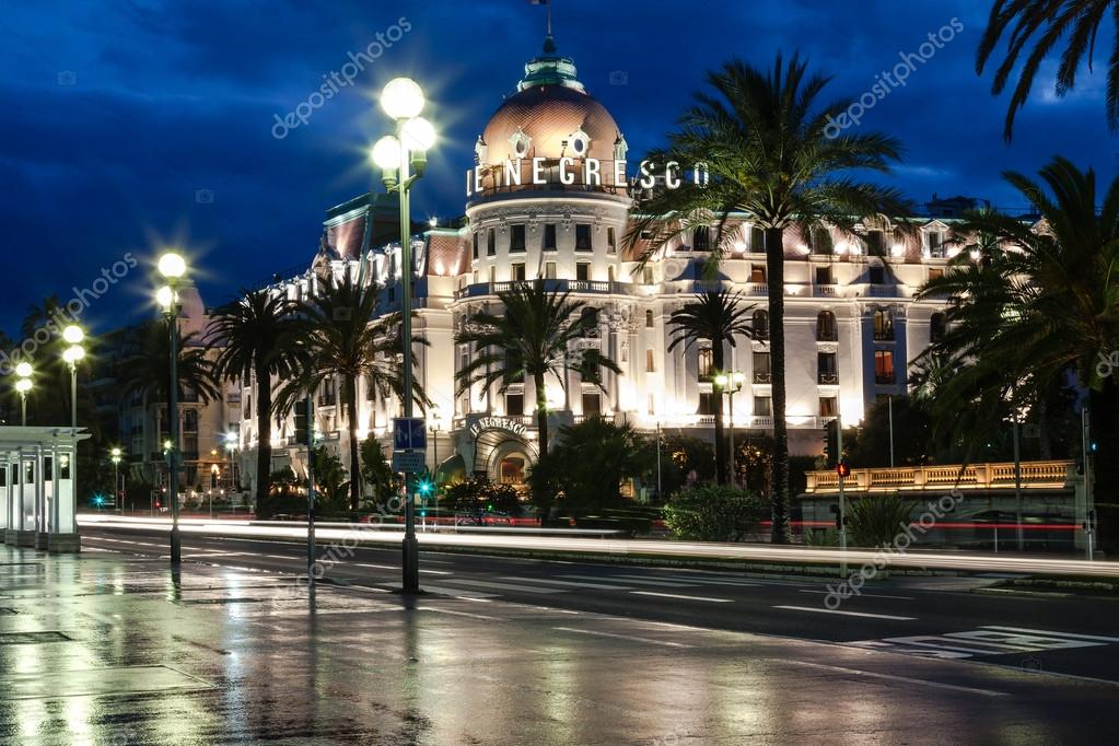 Famous hotel negresco in nice france stock editorial for Luxury hotels in nice