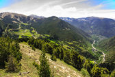 The beauty of the Pyrenees — Stock Photo