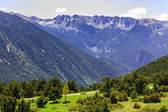 View of the mountains in the Pyrenees — Stock Photo