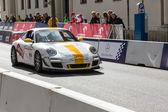 Verva street racing automobilových show ve varšavě, polsko — Stock fotografie
