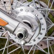 Spokes Motorcycle Wheel — Stock Photo