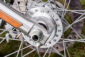 Spokes Motorcycle Wheel — Stock Photo