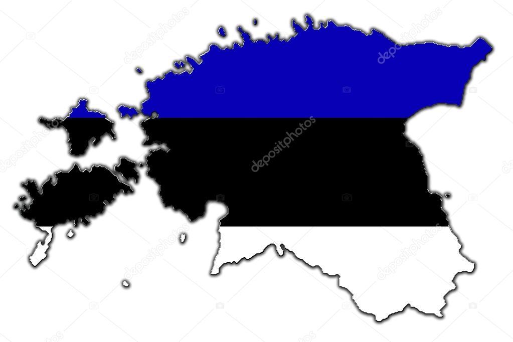 Стилизованные контурная карта Эстонии — Стоковое фото ...: http://ru.depositphotos.com/14297689/stock-photo-stylized-contour-map-of-estonia.html