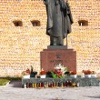 Statue of Pope John Paul II in Lezajsk, Poland — Stock Photo #16071295