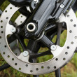 Stock Photo: Brake disc