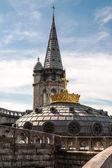 Basilikan tak med kronan — Stockfoto