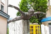 Bronzen sculptuur - phoenix — Stockfoto
