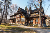 Old and well-known house in Zakopane — Stock Photo