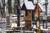 Old cemetery in Zakopane, Poland — Stock Photo