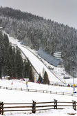 Ski Jump in Zakopane — Stock Photo