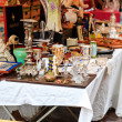 Antique market at Cours Saleya - Stock Photo